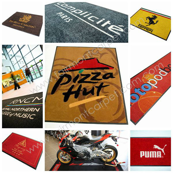 2013 Hot Sale Floor Enrance Mats with Customized Logo Y716, Customize Design Floor Entrance Mat