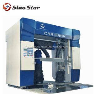 auto carwash machine for rollover car washing machine with five brushes