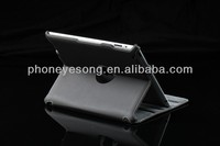 Blank case, sublimation leather case for ipad 2/3/4 with stand