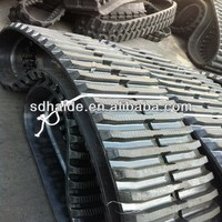 230x72x43 230x48x70 synthetic rubber track for kubota volvo doosan kobelco
