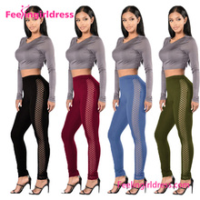 Lightweight Solid Wholesale Yoga Pants Leggings Sport Fitness