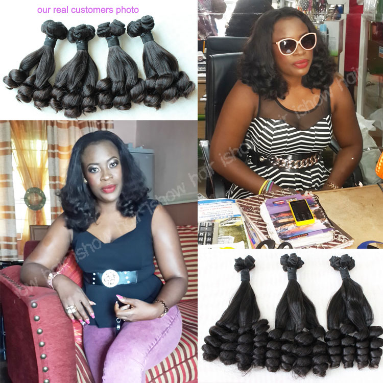 Top Quality Double Drawn Funmi Human Hair Best Selling Products In