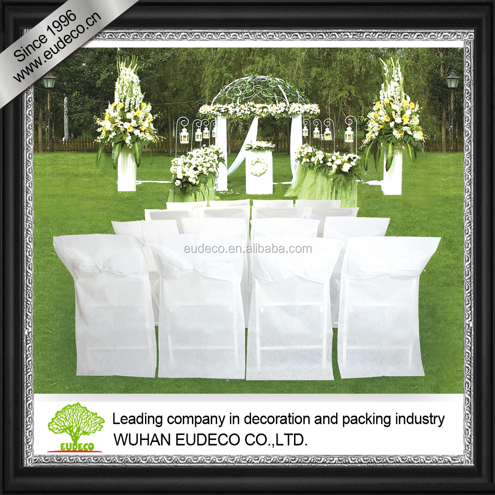 Chair cover for wedding decoration