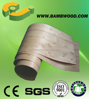 Carbonized strand woven bamboo veneer made in China