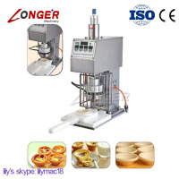 Semi-Automatic Continuous Egg Tarts Pie Crust Forming Machine