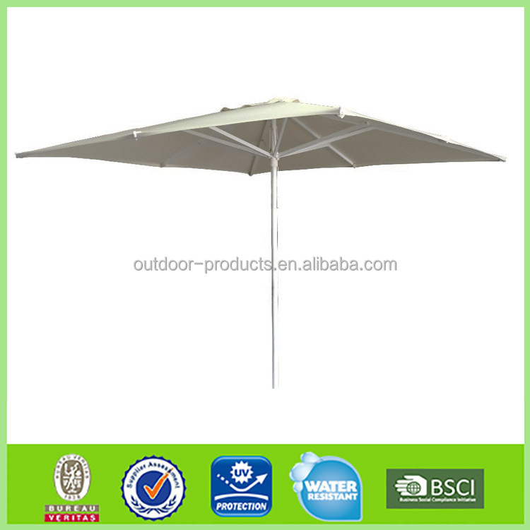 Garden Patio Umbrella Aluminum Frame 3mx3m 3.5mx3.5m Square Parasol