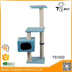 2016 Promote gift pet products cat tower scratching post