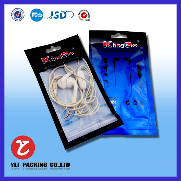High quality waterproof bag for mobile phone with zipper, mobile phone accessories plastic bags
