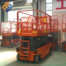 Chinese factory supplied electric man lifting/manlift/lift equipment scissor lift