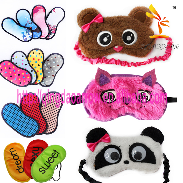 Newest plush owl design eye mask for kids