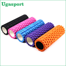 exercise high-density round massage yoga hollow foam roller 2 in 1