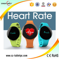 New product health care heart rate monitor smart watch 2015