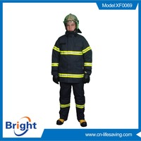 Firefighter Fire fighting suit, fireman suit, fire entry suit