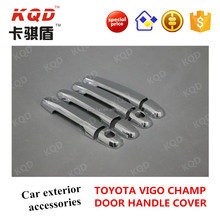 Excellent design ABS plastic Door handle cover high quality chrome accessories for TOYOTA HILUX VIGO 2012 in Thailand market