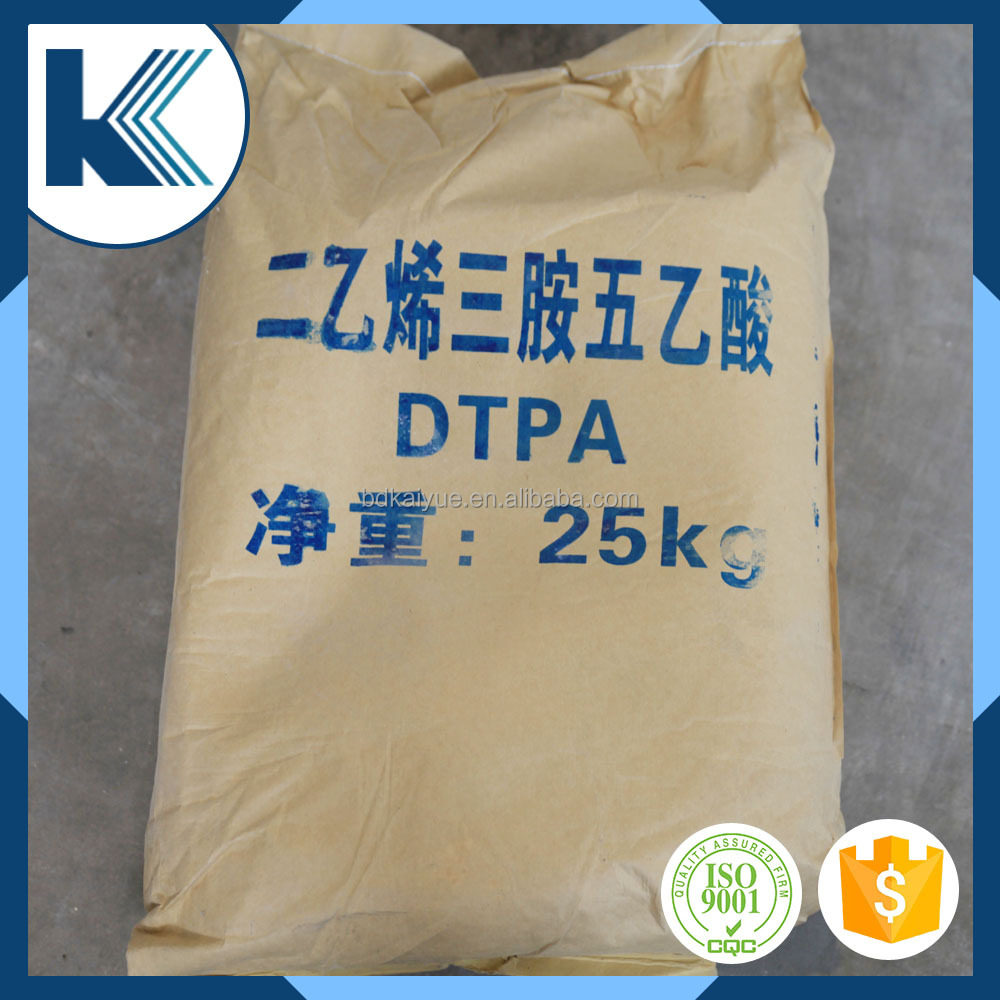 According to customers' demand China 99% dtpa powder for water