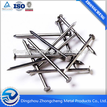 China Smooth shank common nail/concrete nail/wire nail