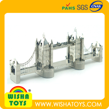 3D metal puzzle diy building puzzle maker ,brain teaser, london bridge