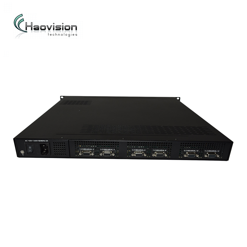 Cable tv headend all in one device, 24 chs AV to rf converter mpeg2 sd modulator