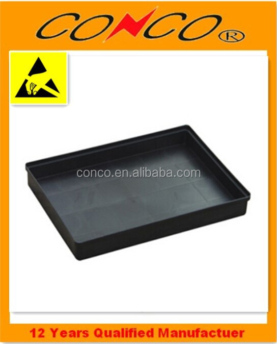 Tray Type and Plastic Material antistatic plastic tray