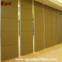 partition wall sliding door for church