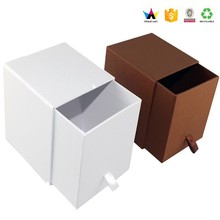 Luxury cardboard packaging candle gift sliding box