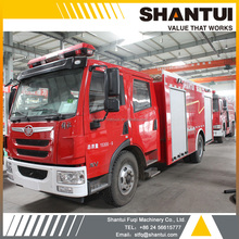 SG55A water tank fire fighting truck SHANTUI fire engine