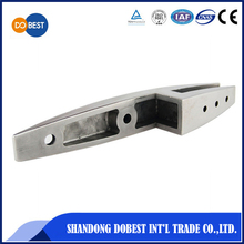 Stainless steel glass door bottom door clip patch fitting clamp