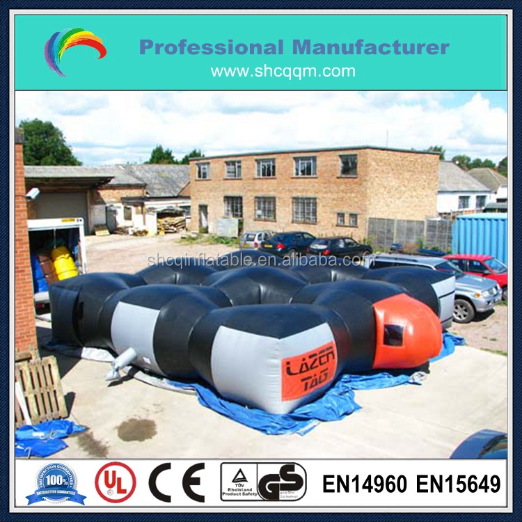 inflatable laser tag arena/inflatable laser tag field/inflatable laser tag maze