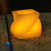 real wax flameless led votive candles