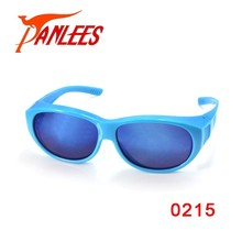 Panlees guangzhou sports fishing fit over glasses uv400 polarized infrared polycarbonate lenses glasses frame goggles sunglasses
