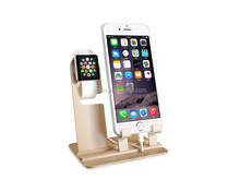 Best Selling for Apple Watch iPhone iPad Charging Stand 3 in 1 Stand Aluminum
