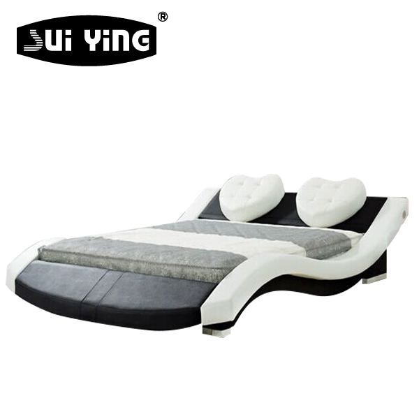 Hot Sale latest design bedroom romantic modern furniture <strong>bed</strong> A022-1