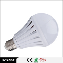 Factory Price E27 B22 emergency led bulb 3W/5W/7W/9W PP cover led rechargeable bulb, battery powered light bulb