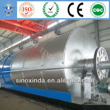 XD 2013hot sale used tire to crude oil recycling machine witt CE and ISO certification