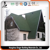 Popular Stone Coated roof 2015 North America Top Quality Plane Standard Asphalt roofing Bitumen tile shingle with good price