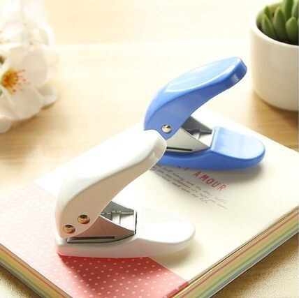6mm one hole paper punch heavy duty puncher for office