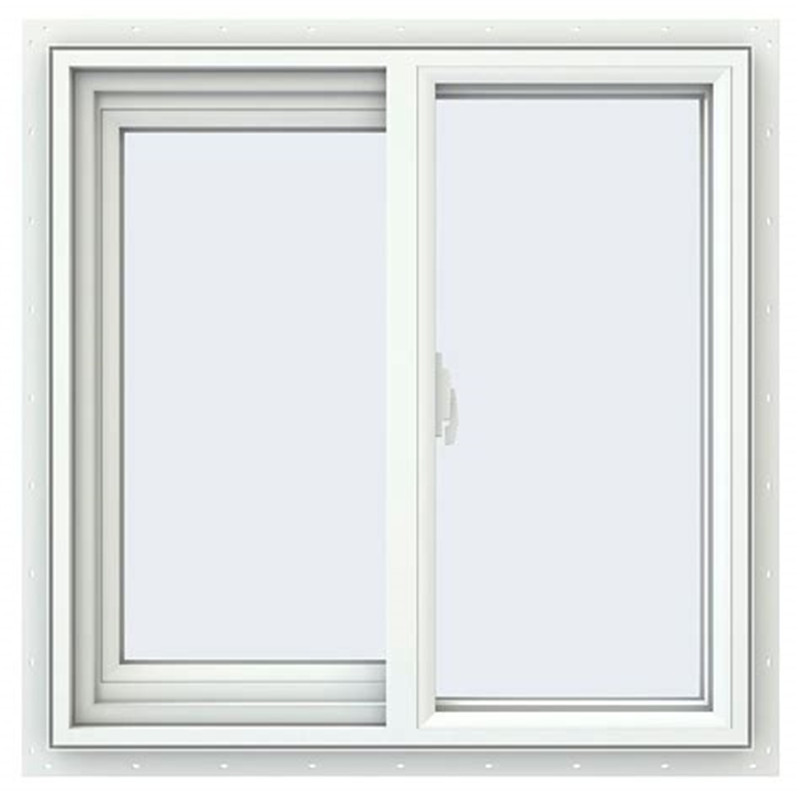 1.0mm 1.2mm 1.5mm Vertical Office House Sliding Window