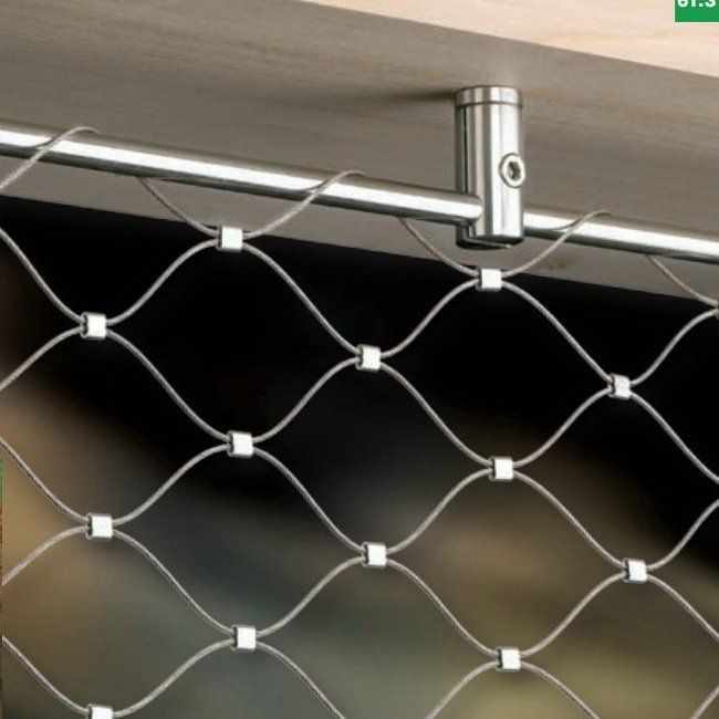 stainless steel zoo aviary mesh/zoo animal fence
