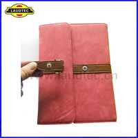 Book Leather Pouch Case For ipad mini, Belt Clip Case For ipad mini,Laudtec