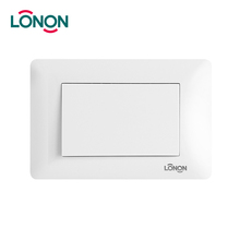Switch Manufacturer 1 gang 2 Way Switch For Home Lighting