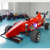 Cool outlook F1 racer car can fit 2-3 player for kids