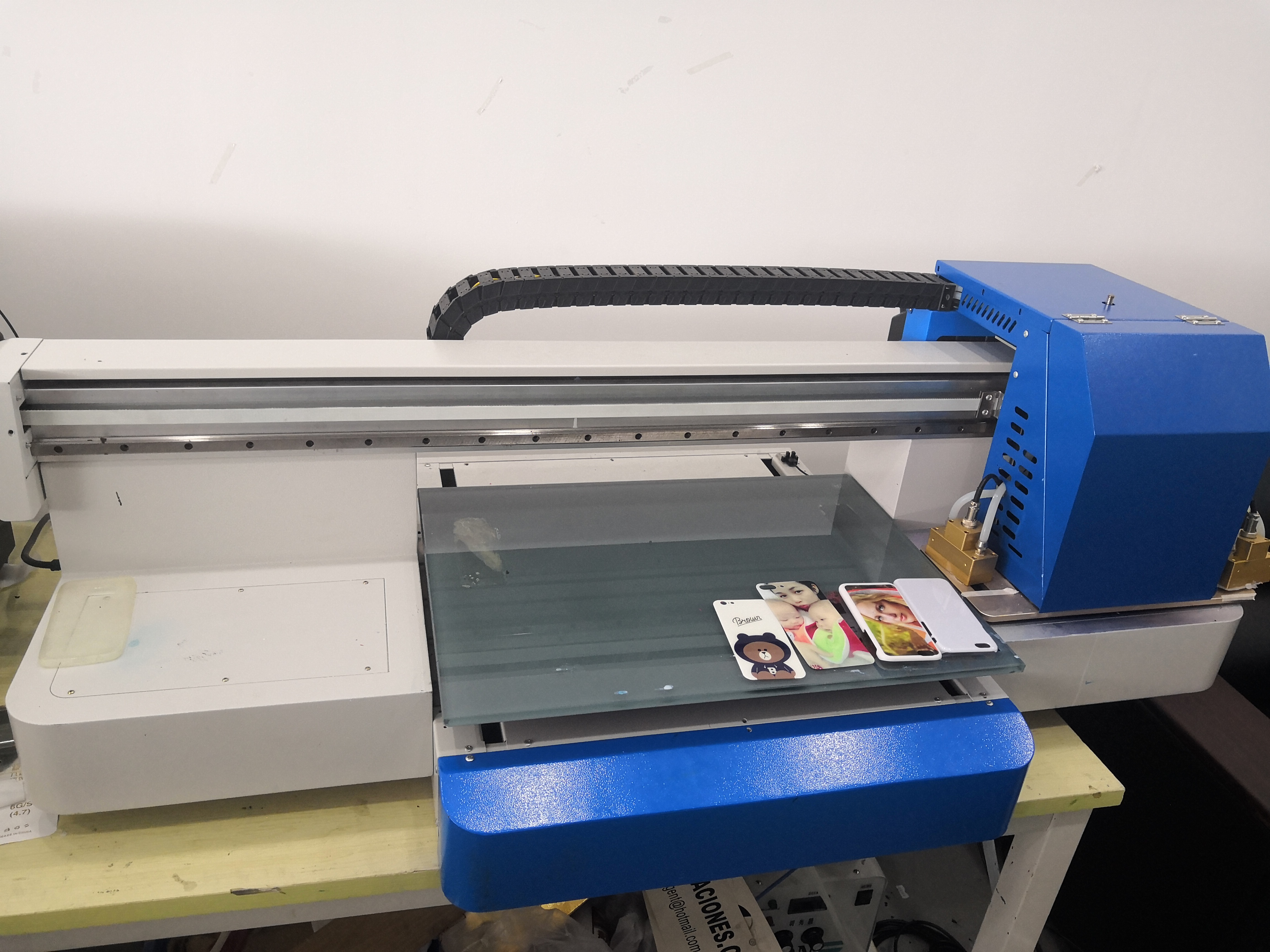 New product roll to roll 6090 uv printer