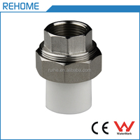 HDPE pipe fittings for water supply system PPR female union pipe fitting