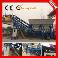 Factory direct sell YHZS25 movable concrete batching plant