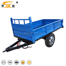 factory price small farm trailer for walking tractors trailers for sales