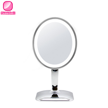 Table mirror with lights free standing table mirror makeup mirror with lights
