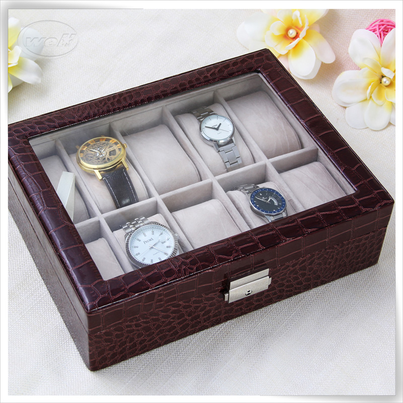 men's leather watch valet boxes