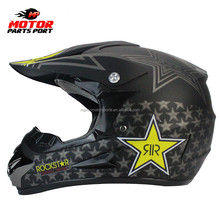 ATV Motocross Dirt Bike Helmet Matt Black motorcycle helmet