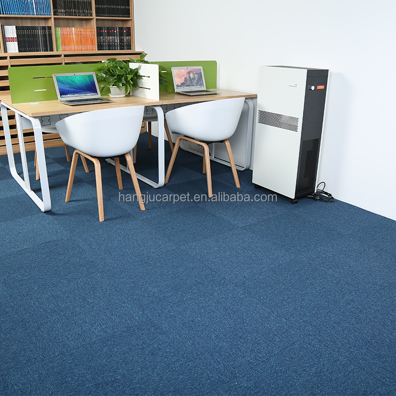 Commercial Blue Color Office Flooring Carpet CapricornusA15