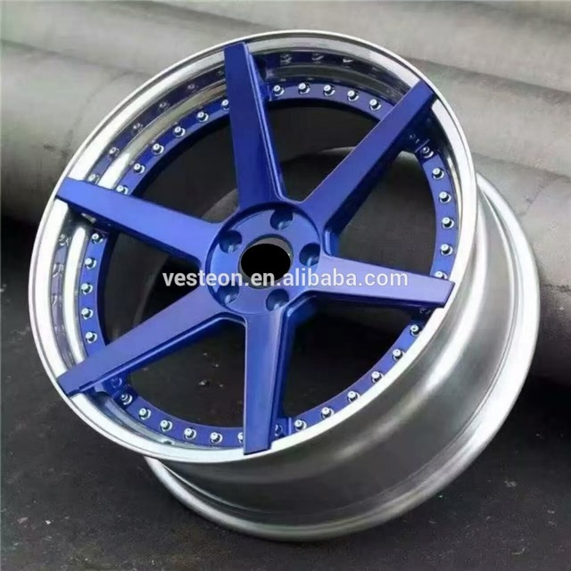 VESTEON New Car Aluminium Alloy 12-30 inch 4/5/8/10/12 holes Wheel Rim